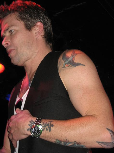 the front man of the fun loving group sugar ray is no sugar ray band mark mcgrath tattoos on back