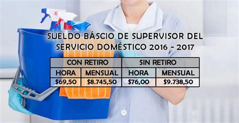 sueldo basico domestico 2016 newhairstylesformen2014com sueldo b 225 sico de supervisor del servicio dom 233 stico 2016