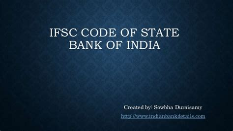 ifsc code of banks in india state bank of india ifsc code