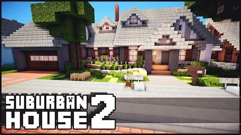 Minecraft House Inspiration by Minecraft Suburban House 2 Youtube