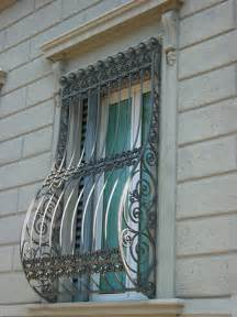 Ornate Curtain Rods Burglar Bars For Windows Protect Your Home From Intrusions