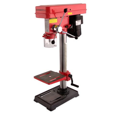 bench top pillar drill eberth 550w rotary pillar drill bench top table press