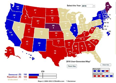 2016 electoral map predictions 1 my 2016 presidential election electoral map prediction