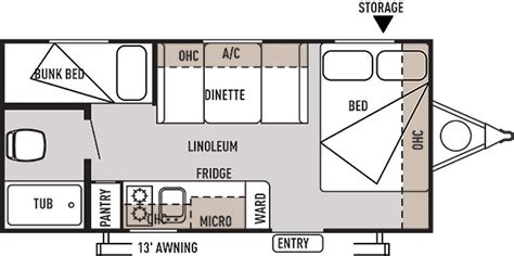 wildwood trailers floor plans difference between salem 195bh and wildwood 195bh
