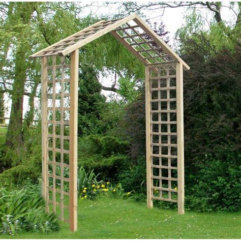 Garden Arch Perth Storemore Atlas Arch Trellis Lattice Panels Fsc Timber