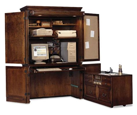 armoire office kathy ireland home computer armoire desk mount view