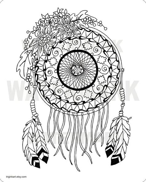 coloring sheets dream catchers sunflower dream catcher adult coloring page coloring by