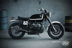 Bmw Scrambler Motorcycle Scramblertt Bmw R100 Scrambler Fuel Bespoke Motorcycles