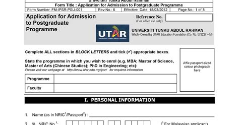 Utar Mba by Utar Part Time Mba Study Diary How To Apply Mba In Utar