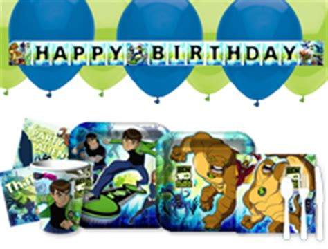 ben 10 printable party decorations ben 10 party supplies and printable games for birthday parties