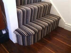 Stairs Striped Carpet by Black And White Striped Stair Carpet Yelp