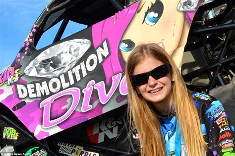 how long is a monster truck show demolition diva 12 is one of world s youngest monster