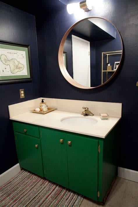 green bathroom cabinets remodelaholic best colors for your home green