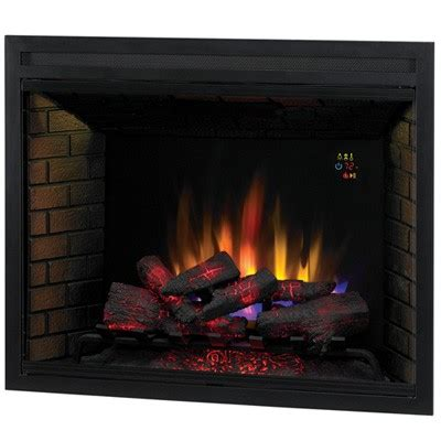 Realistic Electric Fireplace Classic 39eb500gra 39 Electric Fireplace Insert W Realistic Effect