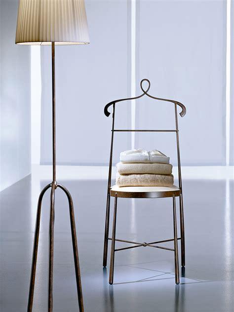 sedie ciacci sedia servomuto in ferro battuto evita by ciacci
