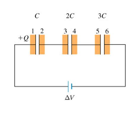 charged capacitor and resistor mastering physics to understand how to calculate capacitance voltag chegg