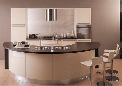 Curved Kitchen Designs 24 Best Images About Curved Kitchens On Painted Beams Islands And Drawer Unit