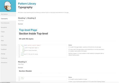 mailchimp pattern library 拥抱统一与迥异 人人都是产品经理