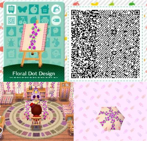 animal crossing happy home design cheats acnl achhd qr code wall floor fabric acnl achhd qr