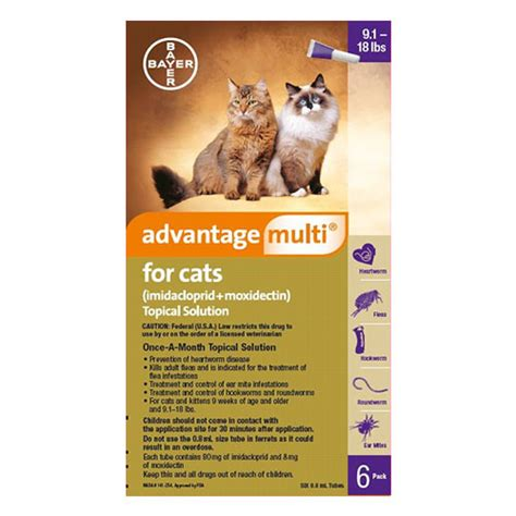 Advocate Cat Size S cheap advantage multi for cats buy advantage multi flea and heartworm for cats