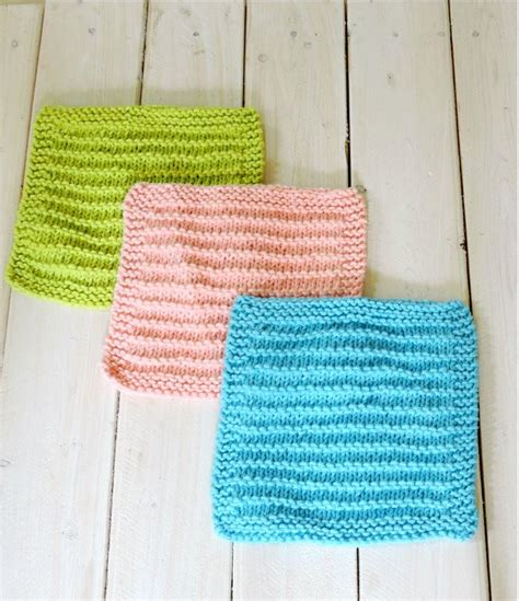 how to knit dishcloths easy farmhouse kitchen dishcloths allfreeknitting
