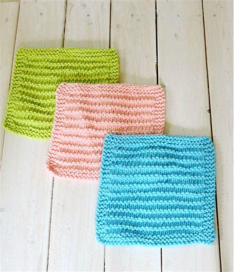 beginners knitting patterns easy farmhouse kitchen dishcloths allfreeknitting