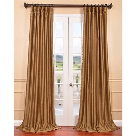 gold faux silk curtains exclusive fabrics empire gold yarn dyed faux dupioni silk