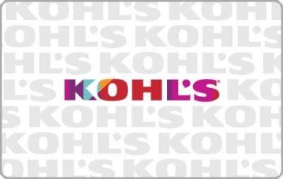 Kohls Gift Card Deals - kohl s gift card deal 50 gift card 10 bonus free shipping bargains to bounty