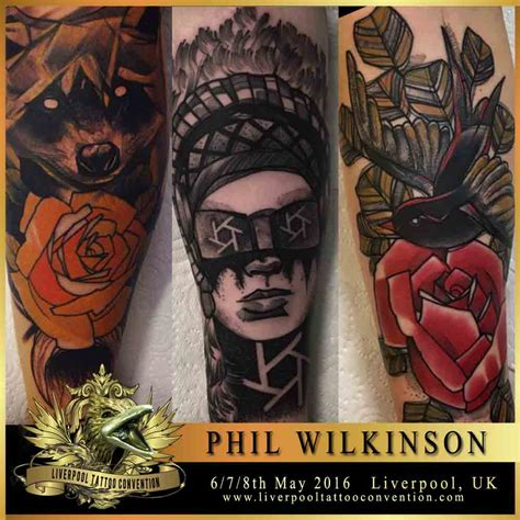 tattoo convention liverpool 2018 phil wilkinson liverpool tattoo convention