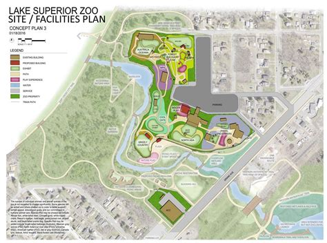 zoo layout design lake superior zoo proposed concepts perfect duluth day