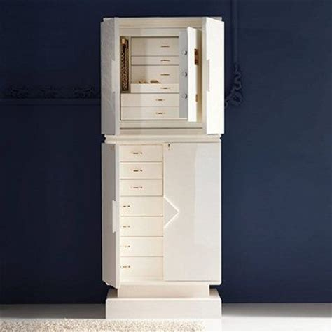 agresti italian jewelry armoire with safe frontgate