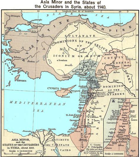 maps of the crusades 1099 1300 crusader states