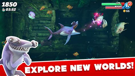 mod game hungry shark hungry shark world apk v0 4 0 proper mega mod