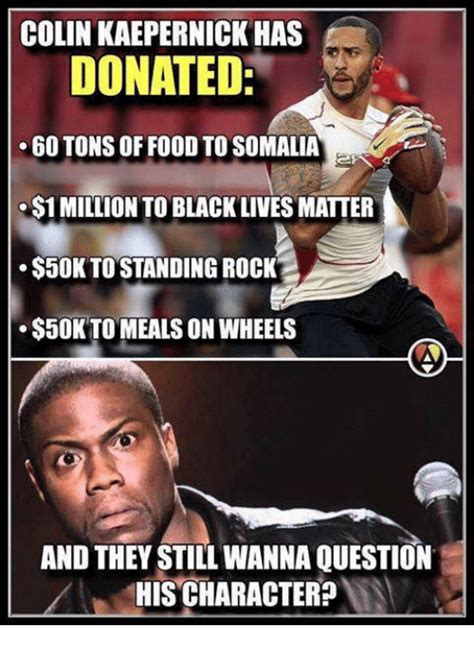 Colin Kaepernick Meme - 25 best memes about meals on wheels meals on wheels memes