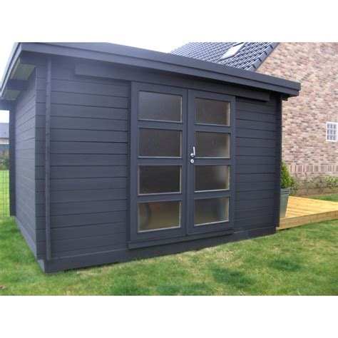 cabanon de jardin toit plat abri de jardin resine toit plat cabanes and co