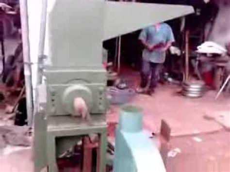 Mesin Pencacah Plastik Kmb 2 mesin giling plastik centrifugal doovi