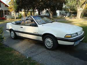 Pontiac Sunbird For Sale 1990 Pontiac Sunbird Le Convertible For Sale On Car And