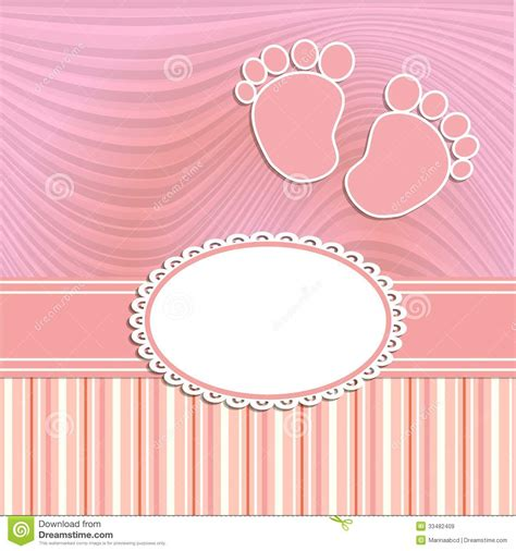 new baby girl gift cards pack of 10