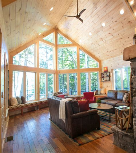 maine interior designers rustic maine lake house rustic family room portland