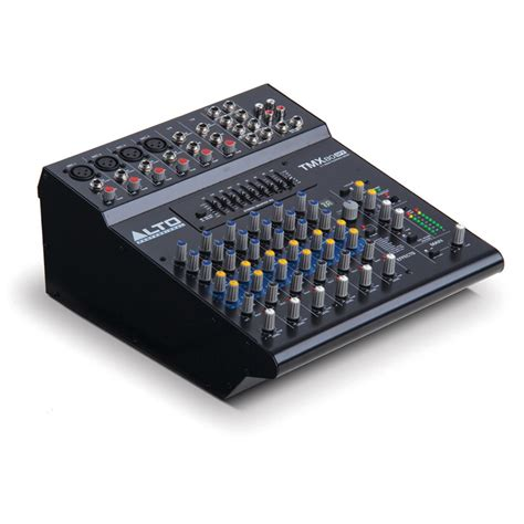 Mixer Alto 12 Channel disc alto tmx80 8 channel dsp powered mixer at gear4music