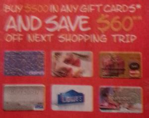 Pathmark Gift Card Online - 60 off a 500 gift card at the grocery plus a credit card number follow up