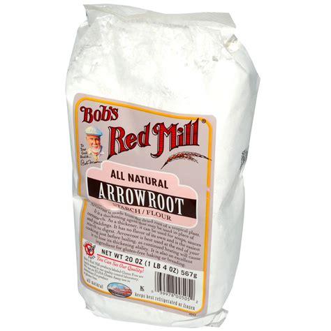 bob s red mill arrowroot starch flour all natural 20 oz 567 g iherb com