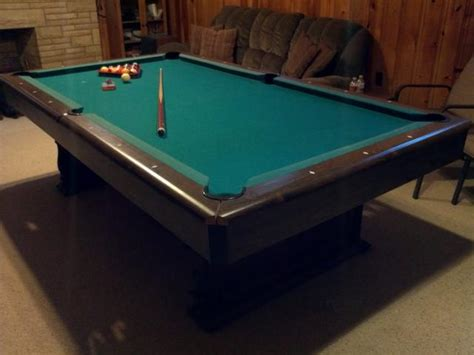 fischer pool table nex tech classifieds