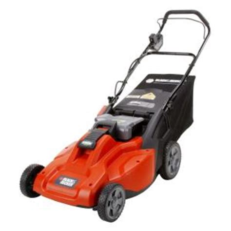 black decker 19 in 36 volt cordless electric lawn mower