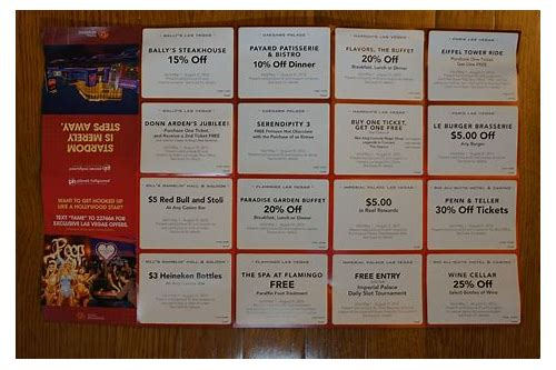 harrah's buffet las vegas coupons