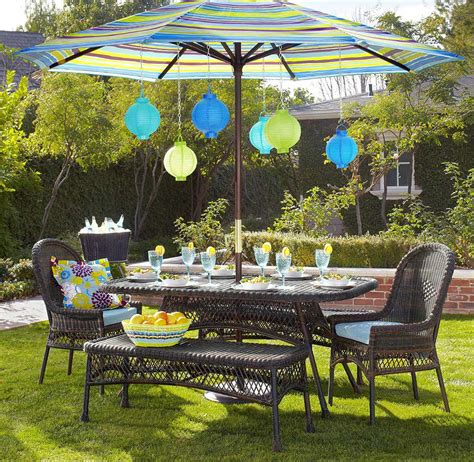 Winsome Outdoor Patio Furniture Decor Shows Winsome Wicker