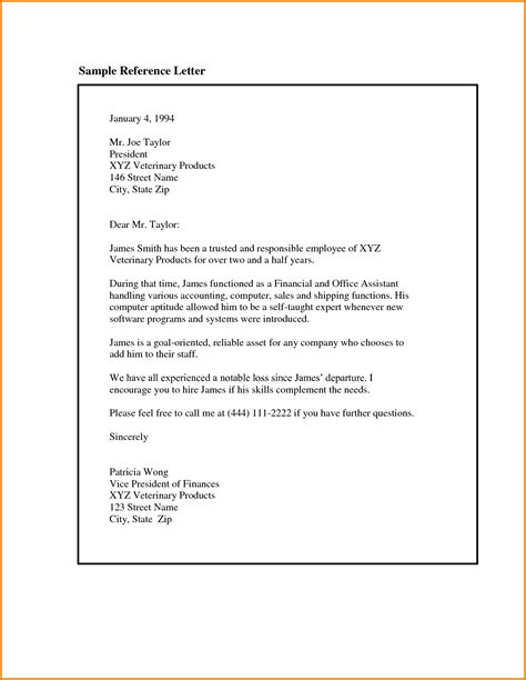 Reference Letter For Employee Word Pics For Gt Recommendation Letter For Accountant Employee