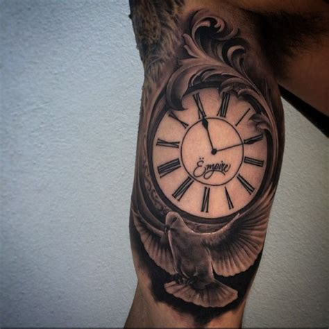 tattoo arm clock clock arm tattoo best tattoo ideas gallery