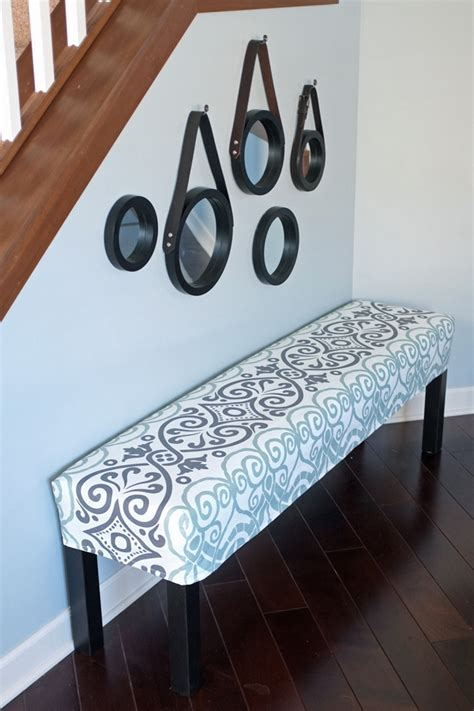 diy bench cushion cover diy shade canopy with bench and cushion also white table