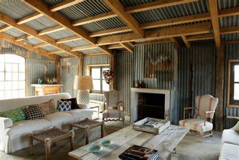 Dream Kitchen Designs corrugated metal in interior design mountainmodernlife com